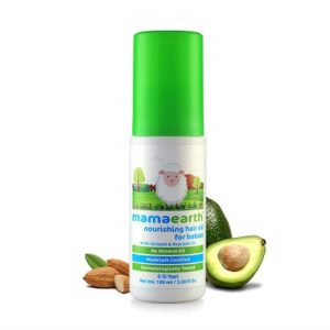 Mamaearth Nourishing Baby Hair Oil with Almond and Avocado