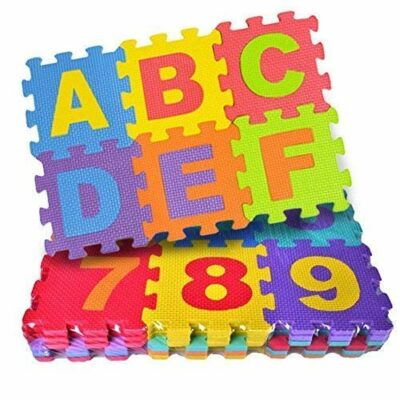 36 Pieces Puzzle Foam Mat