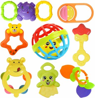 Cable World Plastic Rattle