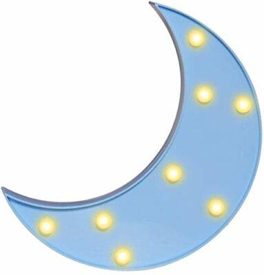 House of Quirk Moon Nightlight