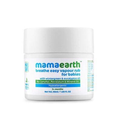Mamaearth Natural Breathe Easy Vapour Rub
