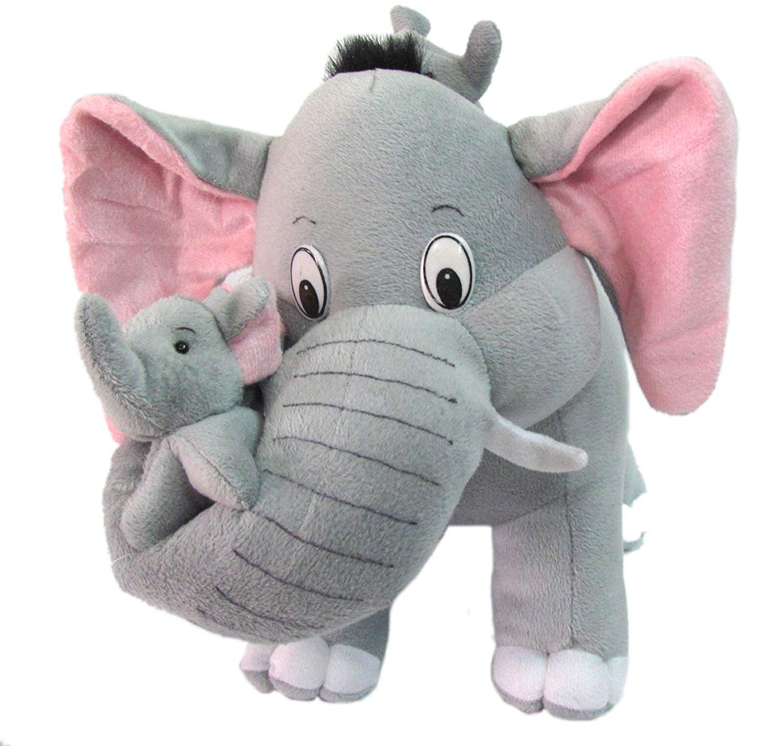 Mother Elephant Plush Toy