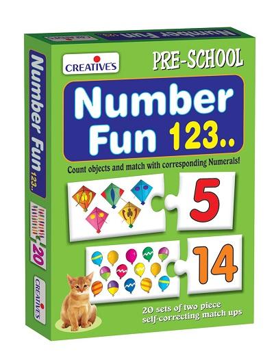 Number Fun 123 Puzzle